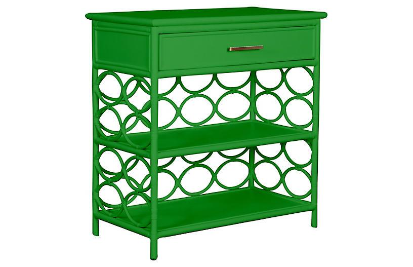 Isla Side Table, Bright Green