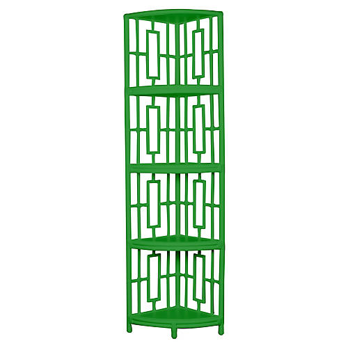 Tinley Étagère, Bright Green