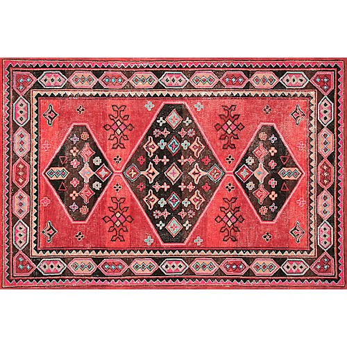 Tammy Wool Rug, Red