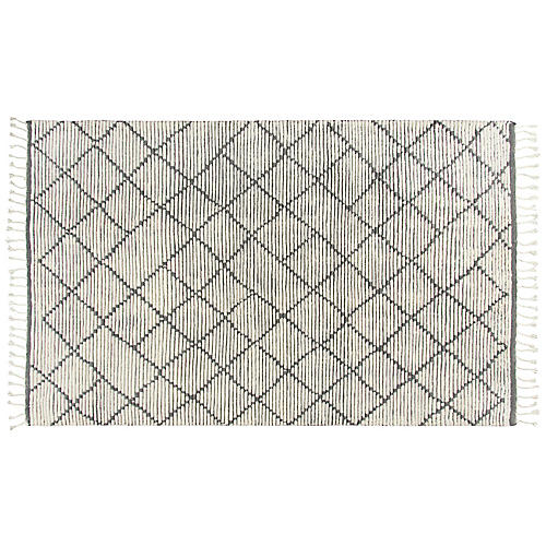 Issa Hand-Knotted Rug, Natural