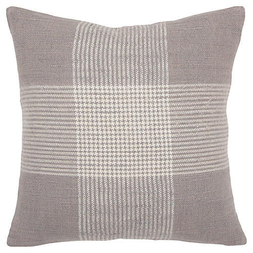 Brynn 20x20 Pillow, Gray