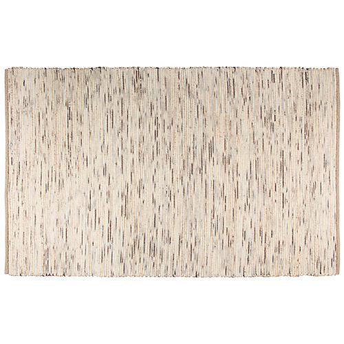 Trende Flat-Weave Rug, Beige