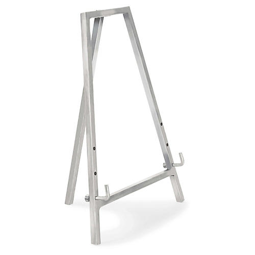 "12"" Tabletop Easel, Polished Nickel"