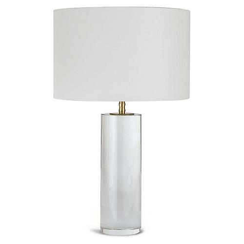 Juliet Crystal Table Lamp, Clear