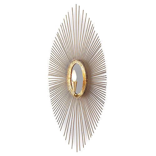 Sedona Sconce, Gold Leaf