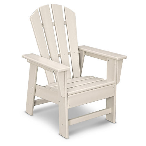 Kids' Adirondack Chair, Sand
