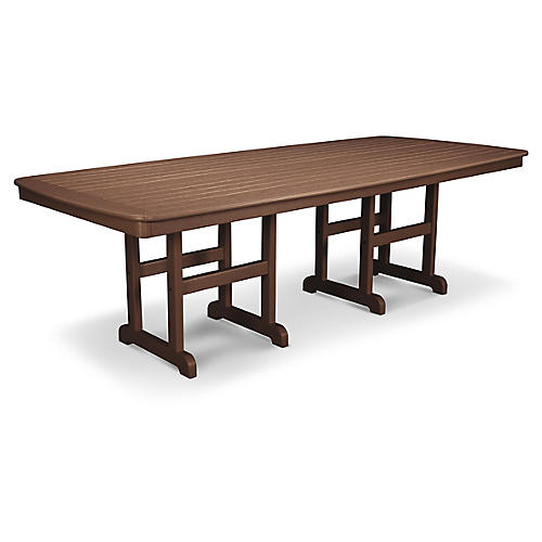 Nautical Dining Table, Brown
