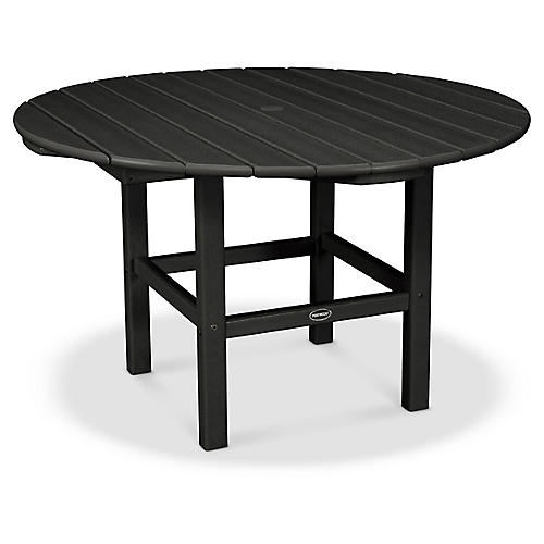 Kids' Dining Table, Black