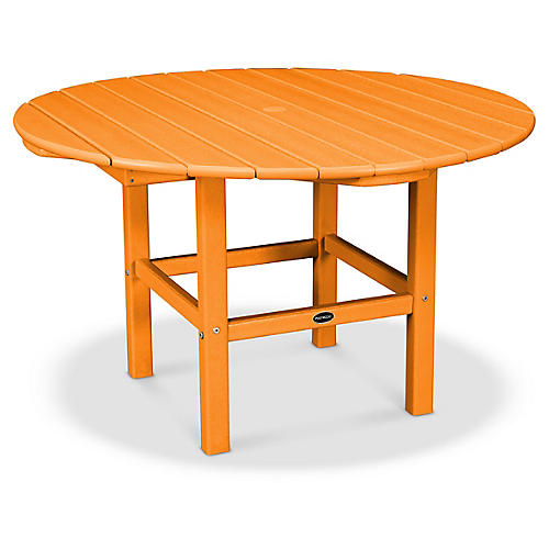 Kids' Dining Table, Tangerine