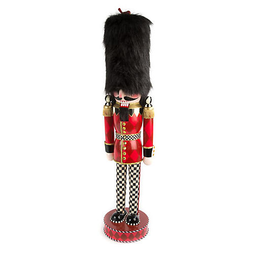 "36"" Grand Buckingham Nutcracker, Red/Black"