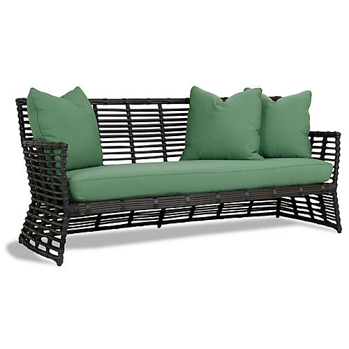 Venice Sofa, Green