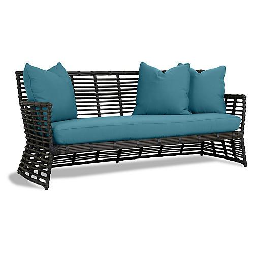 Venice Sofa, Turquoise