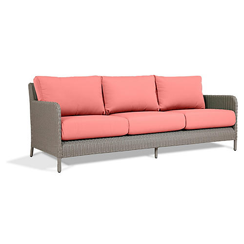 Manhattan Sofa, Pink
