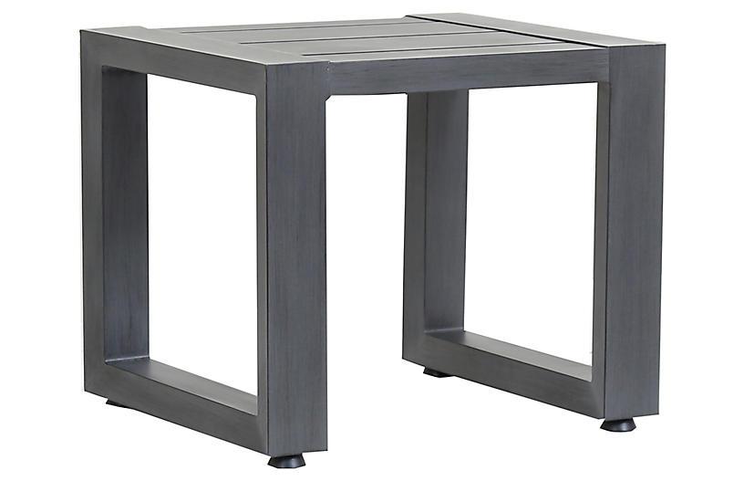 Redondo Side Table, Graphite