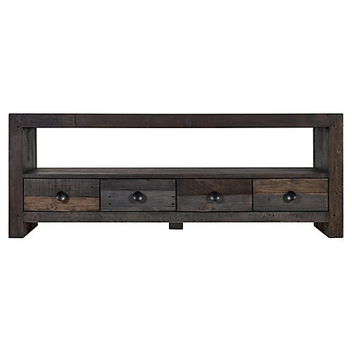Waterford Media Console, Gray