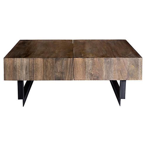 Tiburon Coffee Table, Natural