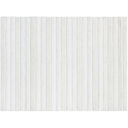 Visca Rug, White/Ivory