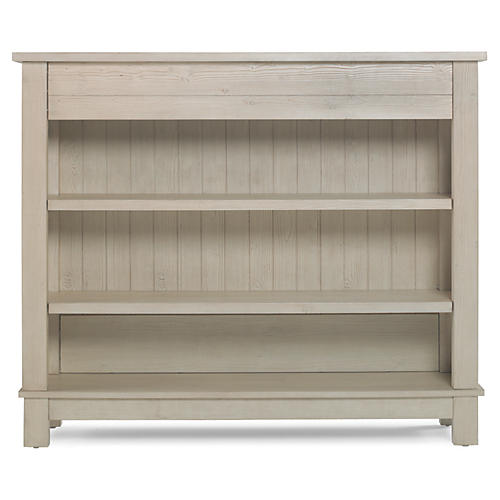 Channing Bookcase, Sea-Washed Pine