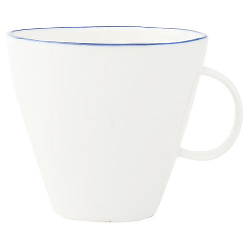 S/4 Abbesses Cups, White/Blue