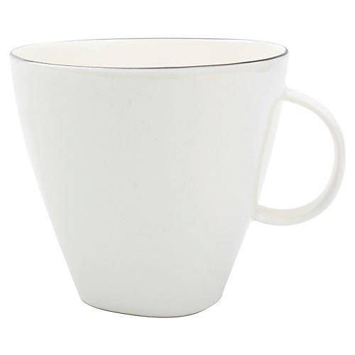 S/4 Abbesses Cups, White/Platinum