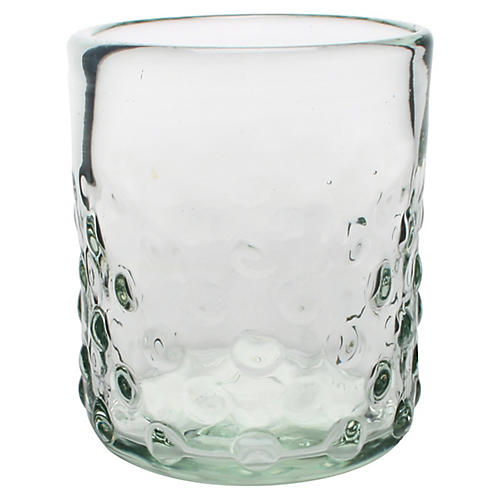 S/6 Pomegranate DOF Glasses, Clear