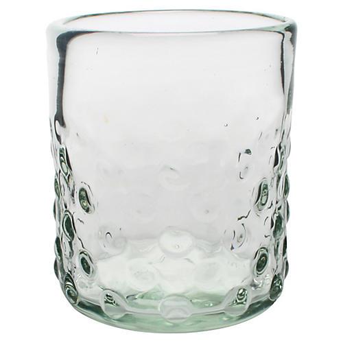 S/6 Pomegranate DOF Glasses, Clear