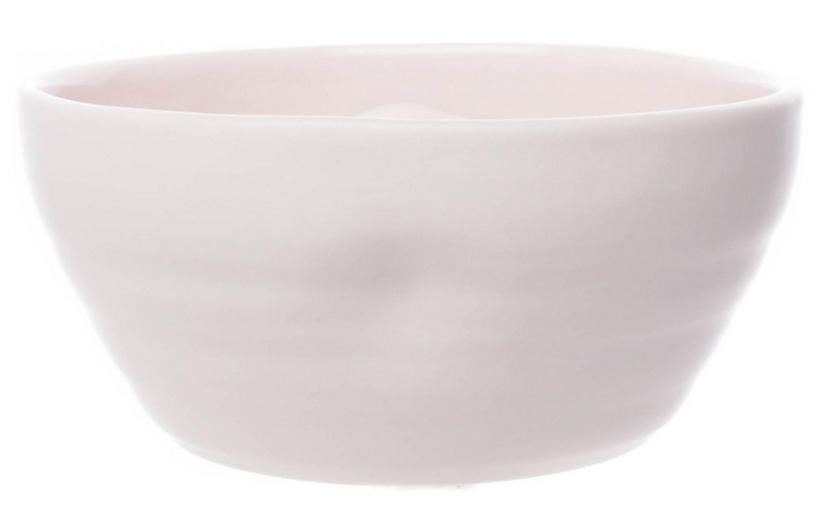 S/4 Pinch Cereal Bowls, Pink