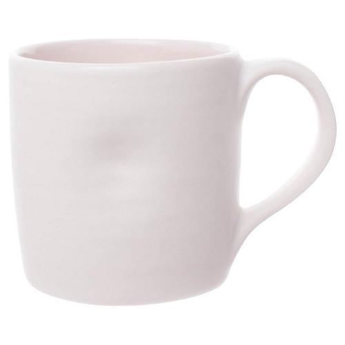 S/4 Pinch Mugs, Pink