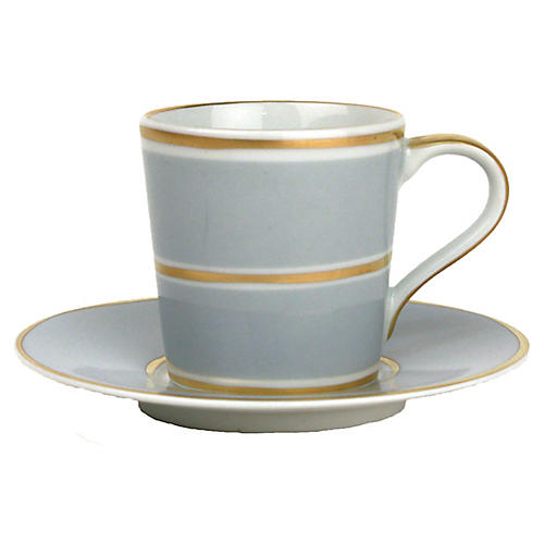 4-Pc La Vienne Espresso Set, Blue