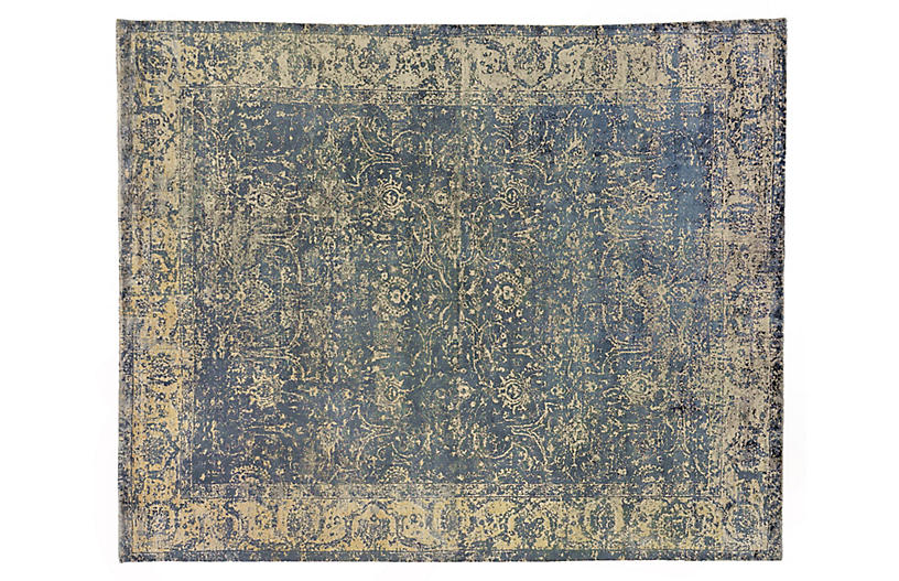 Cassina Rug Denim Exquisite Rugs Brands One Kings Lane