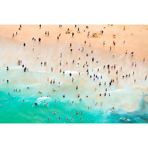 Gray Malin, Maroubra Bay Swimmers