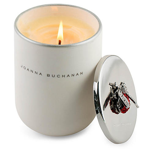 Ruby Candle, Floral Amber