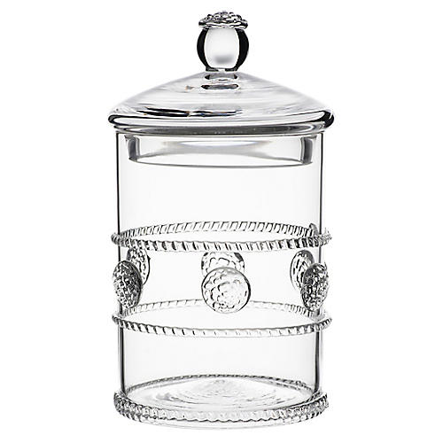 Isabella Mini Canister, Clear