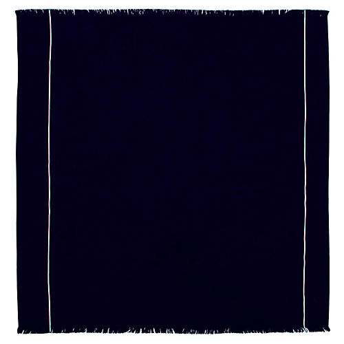 Adventurer Beach Towel, Navy/Sand