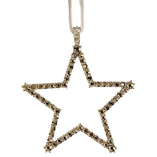 Star Ornament, Gold