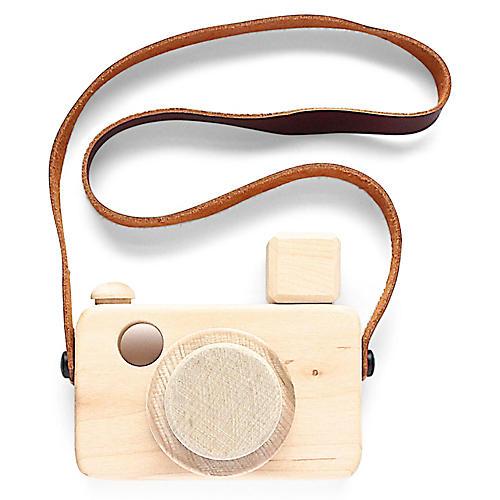 Ansel Kids' Toy Camera, Natural