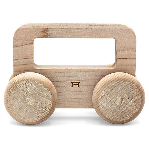 Scoot Kids' Toy Caboose, Natural