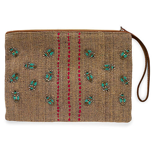 Aqua Fly Pouch, Natural/Multi