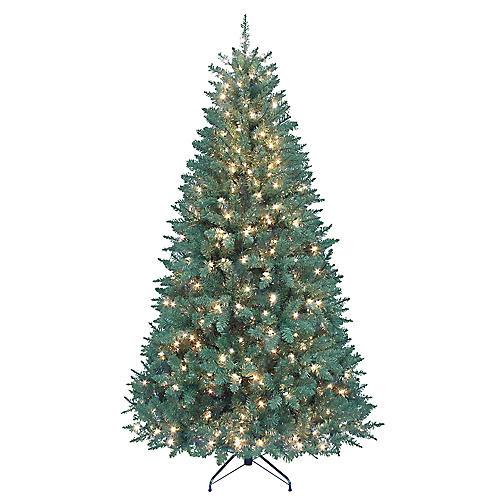 Pre-Lit Faux Pine Tree