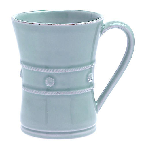 Berry & Thread Coffee Mug, Ice Blue