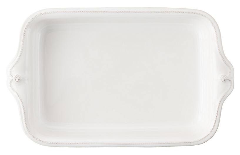 Berry & Thread Rectangular Baker - White - Juliska