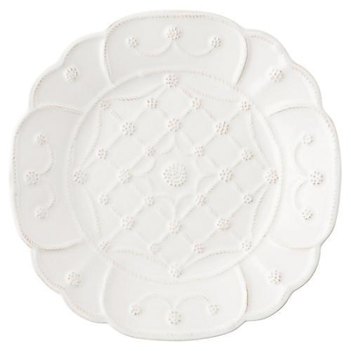 Villandry Dessert Plate, White