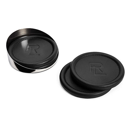 S/4 Paxton Coasters, Black/Silver