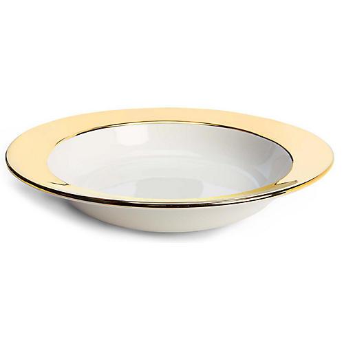Somerville Round Serving Bowl, Gold