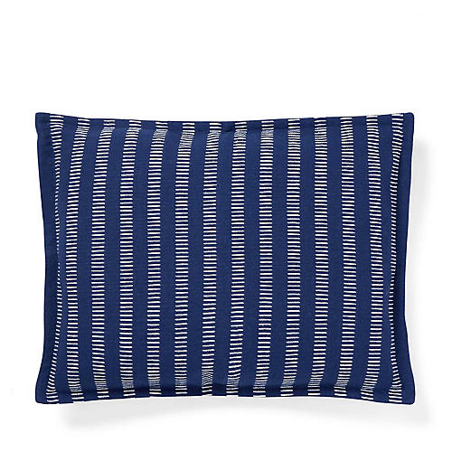 Annalise 12x16 Woven Pillow, Blue
