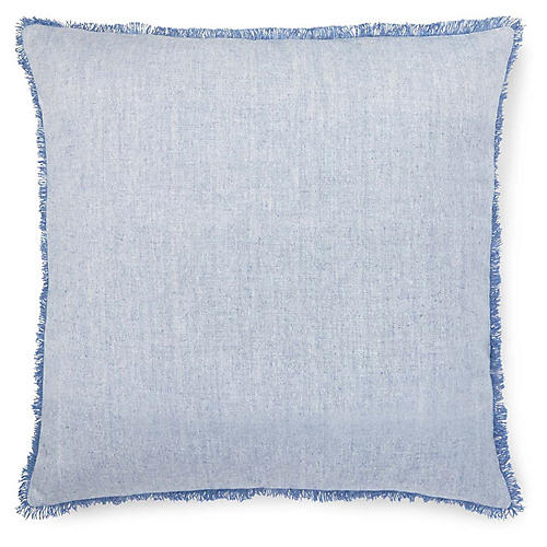 Marley Euro Sham, Light Blue