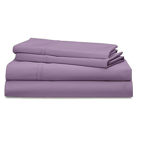 Spencer Solid Sheet Set, Lavender