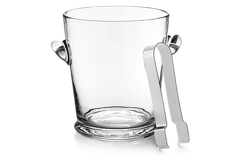 Ethan Ice Bucket w/ Tongs