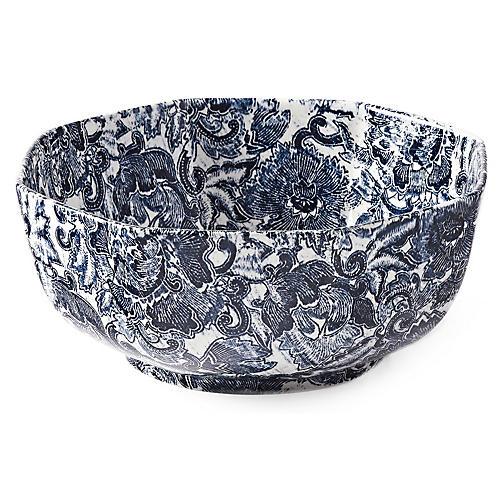 Faded Peony Bowl