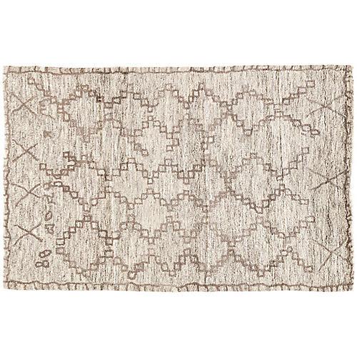 Evora Wool Rug, Neutral/Brown